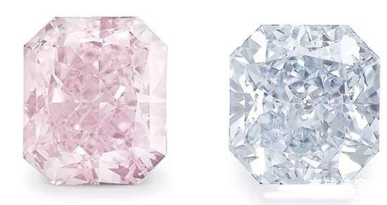 钻石的颜色是怎么形成的