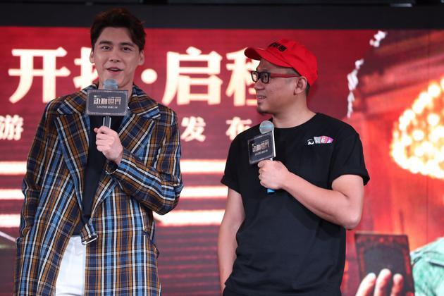 李易峰出席《动物世界》看片会 坦言想兼顾明星和演员