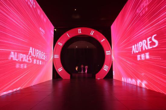 """欧珀莱""""时光肌密""""臻品盛典在北京达美艺术中心举行"""