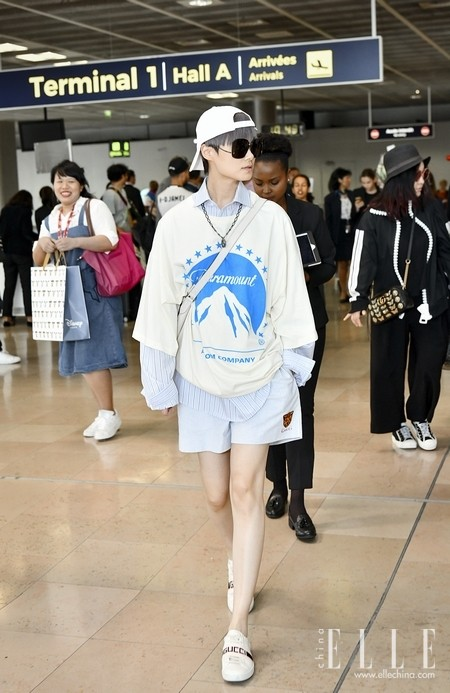 Gucci品牌大使李宇春受邀出席Gucci 2019早春时装秀