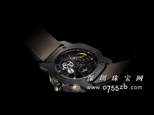 BVLGARI宝格丽与SOC超跑俱乐部合作打造Octo Tourbillon Sapphire SOC腕表