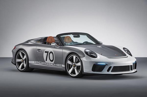 保时捷将于70周年推出911 Speedster Concept车型