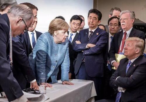 特朗普回应G7峰会照片 照片不是你们看到的那样