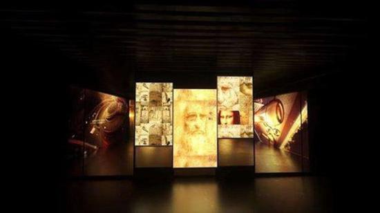 北京山水美术馆展出达芬奇画作 据说是真迹