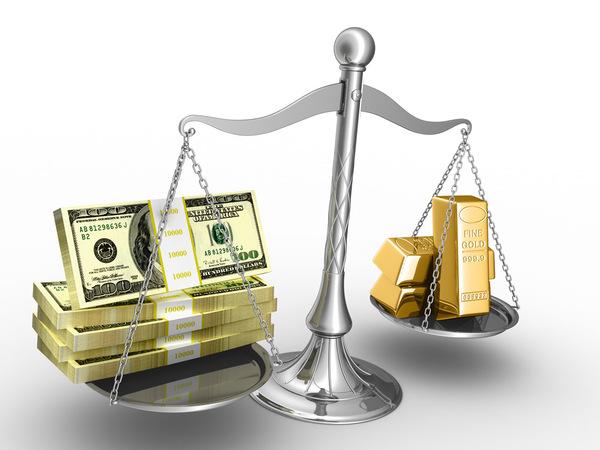 美元指数强劲复苏 国际黄金加速骤降
