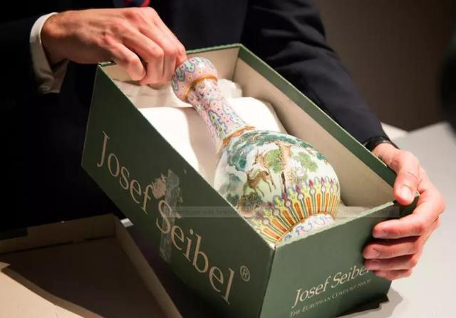 一件尘封在鞋盒中的瓷瓶被法国苏富比拍出1.2亿天价