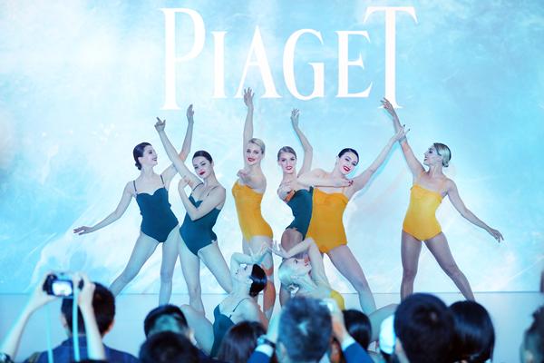 PIAGET伯爵全新时尚大使杨幂 阮经天现场揭幕2018年Possession系列璀璨新作