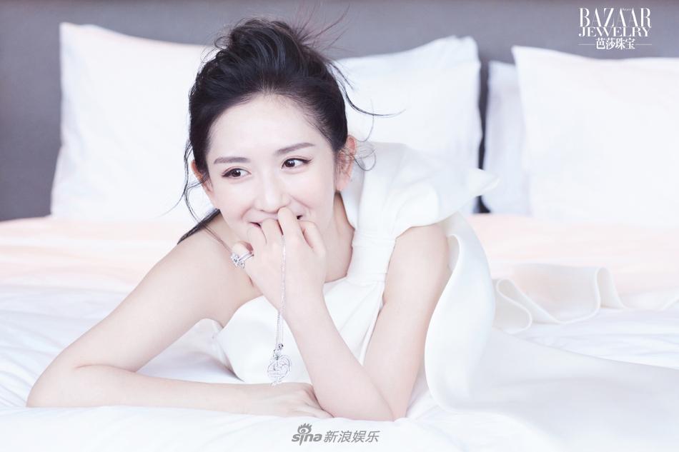 新晋辣妈谢娜动情演绎珠宝大片 尽显女人味
