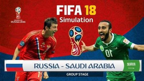 世界杯首战! 俄罗斯5:0狂胜沙特阿拉伯