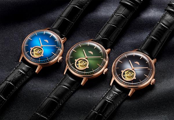 北京表推出60周年特别款色彩陀飞轮新品腕表