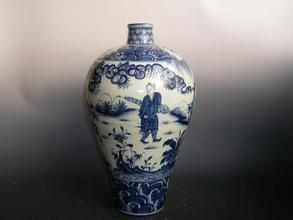 如何通过烙印辨别青花瓷的制作年代?