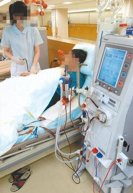 医院用自来水洗肾 导致其中一名患者死亡