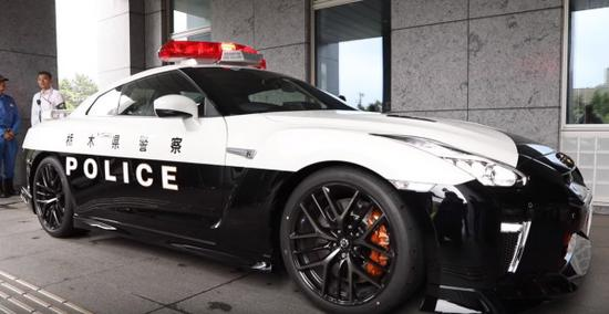 日本警方购入超跑 将成为追捕犯人的利器