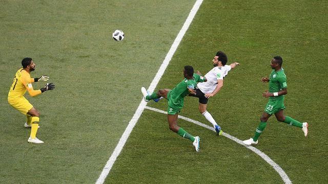 沙特2-1埃及 以1胜2负积3分列小组第三