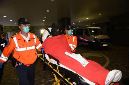 香港发生疑似枪击案 造成两名警员受伤无生命危险