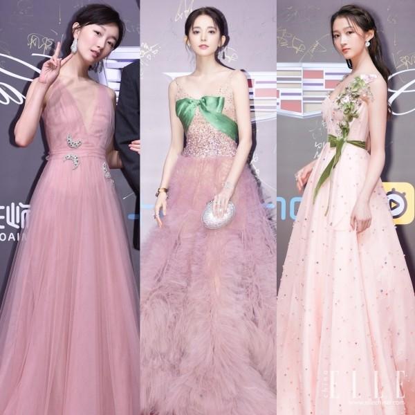 明星小姐姐都爱的粉色系礼服 你要pick吗