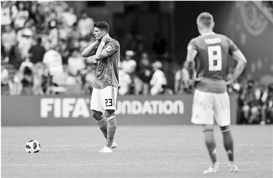 本届世界杯最大冷门:德国小组赛出局