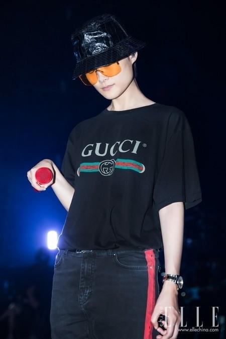 李宇春佩戴Gucci G-Timeless系列腕表 一同见证演唱会闪耀时刻