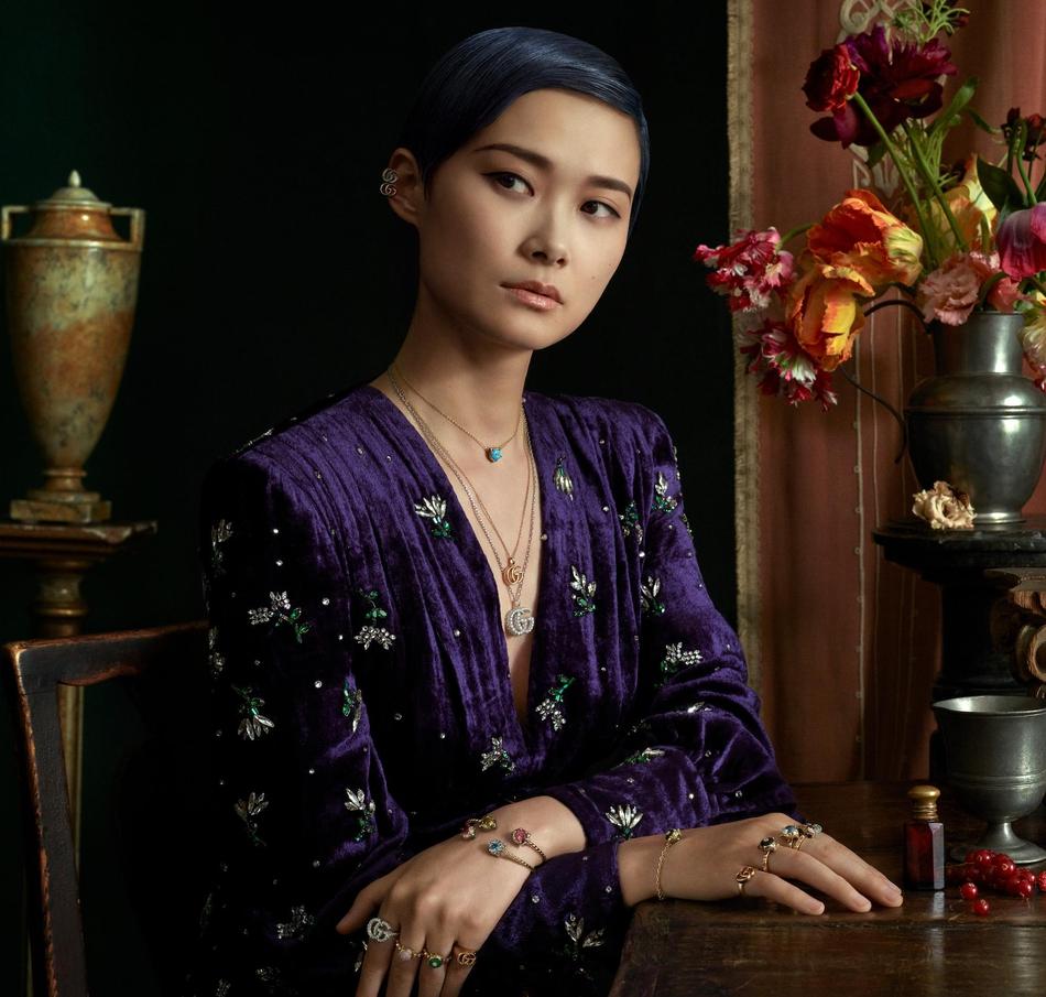 GUCCI携手李宇春 全新广告形象大片正式发布