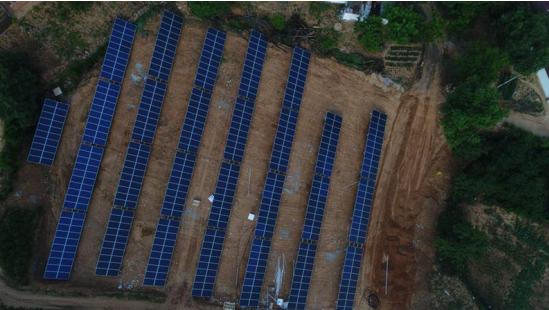首航新能源助力16个村8MW光伏扶贫电站建设