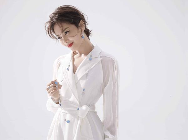 刘涛为Chopard萧邦Happy Diamonds系列拍摄时尚大片