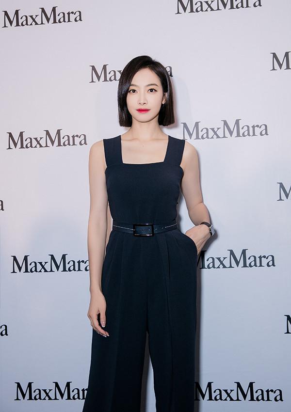 宋茜全新演绎Max Mara秋冬爆款