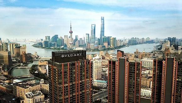 上海宝格丽酒店演绎意式现代风情