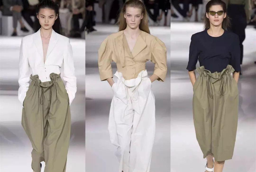 显瘦到炸的纸袋裤比阔腿裤还吸睛