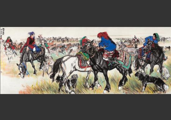 一组荣宝斋20世纪中期字画的收款单曝光 让我们看到了字画收藏的暴利