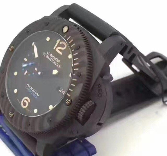 沛纳海pam00616碳纤维表壳男士手表