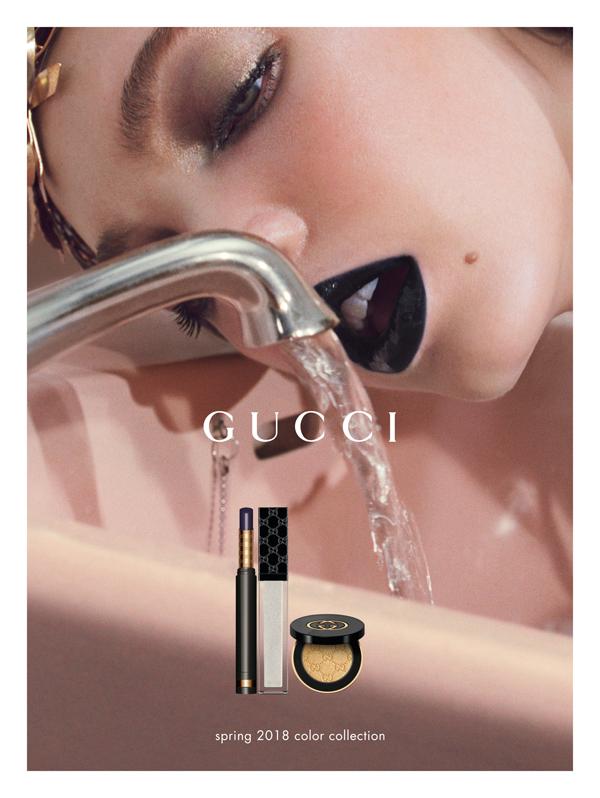 Gucci2018春夏彩妆系列