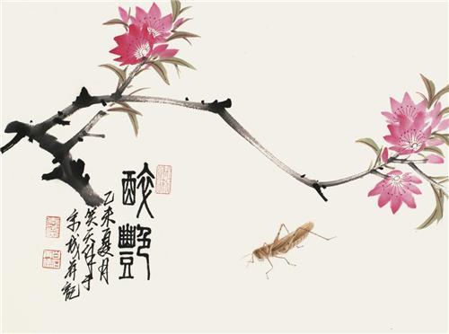 李笑天工笔草虫作品展 汇集百余幅工笔草虫系列精品