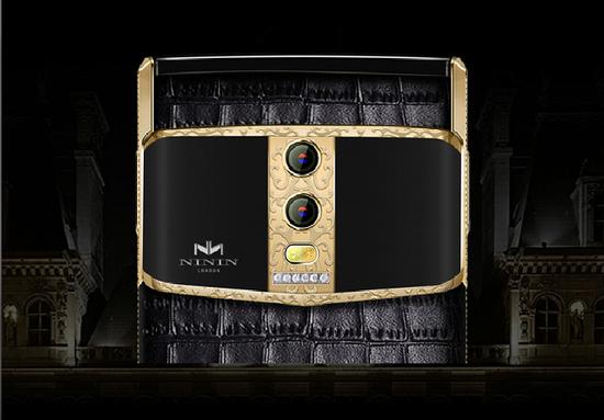 Ninin奢华手机发布了首款钻石手机NININ-V8