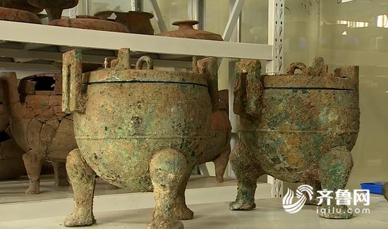 枣庄考古发现墓葬86座 文物数千件