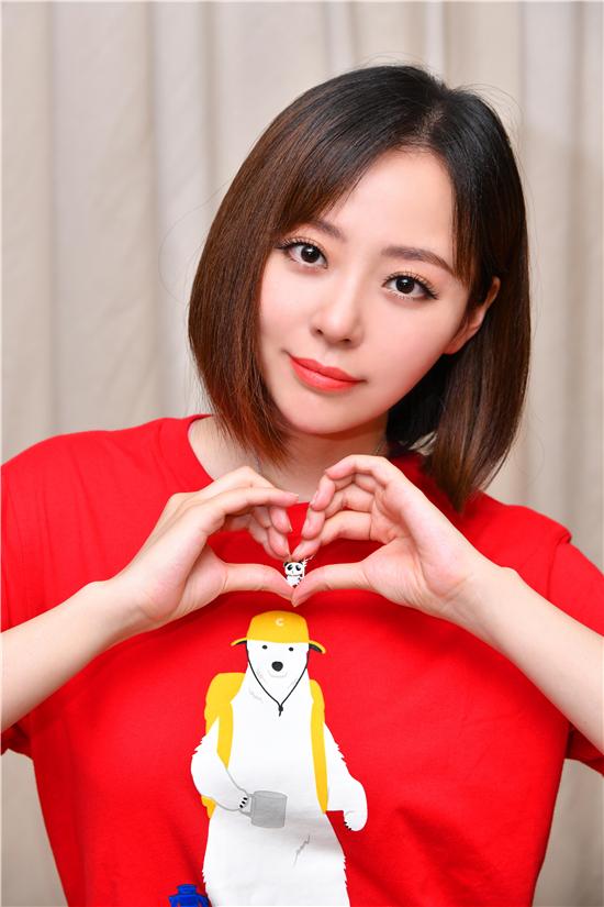 Ooh Dear亲子珠宝熊猫项链 李嫣为爱绘梦