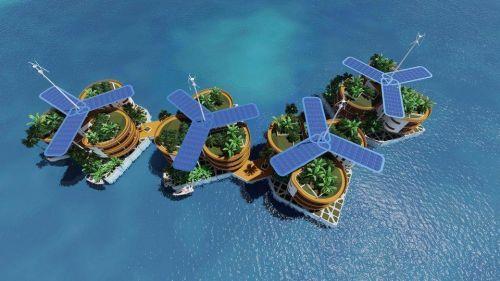 世界首座浮动城市将在南太平洋建成