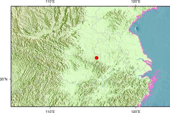 今天8时35分 河南信阳发生3.6级地震