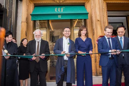 TTF世代传承高级珠宝世家全球首家旗舰店在巴黎盛大开幕