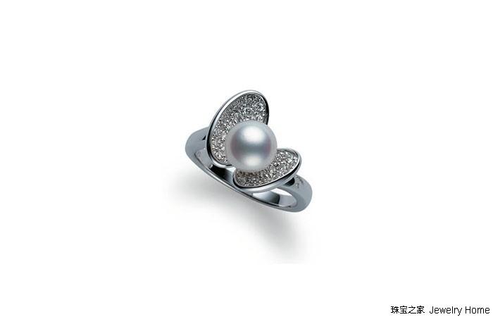 Mikimoto御木本出Cherishing Love系列珠宝 每一件都承载了浓浓的爱意