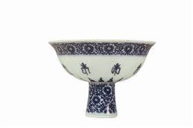 清代康乾时期高足瓷器鉴赏