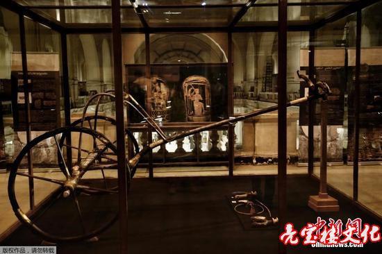 图坦卡蒙战车迁至开罗的大埃及博物馆