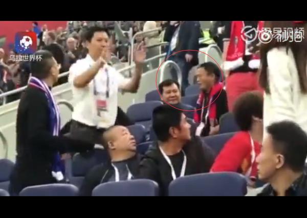 世界杯最贵球迷 马云张近东现身