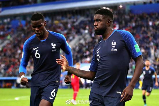 法国1-0比利时杀入决赛 距离捧杯仅一步之遥
