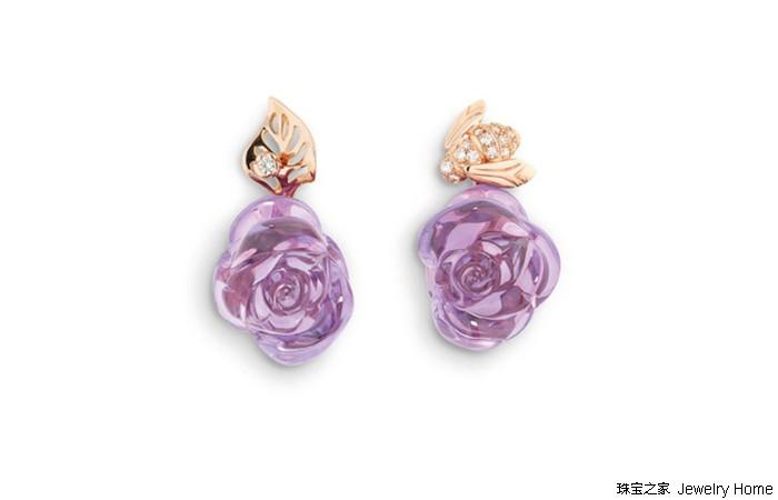Rose Dior Pré Catelan系列珠宝:五种材质打造 尽显玫瑰百变姿态
