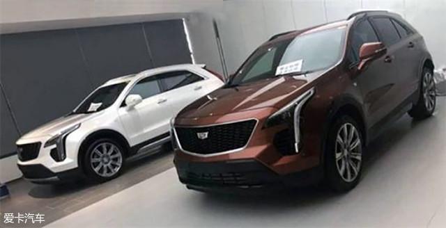国产凯迪拉克XT4实车曝光