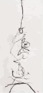用注射器来写草书 是江湖还是艺术