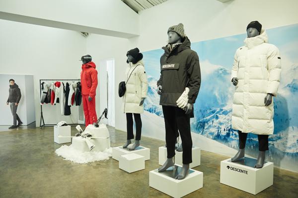 DESCENTE 2018秋冬新品预览