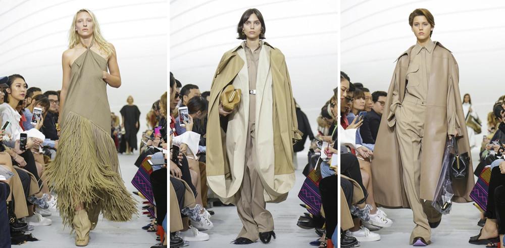 时装周上的淡漠色 谁穿谁高级