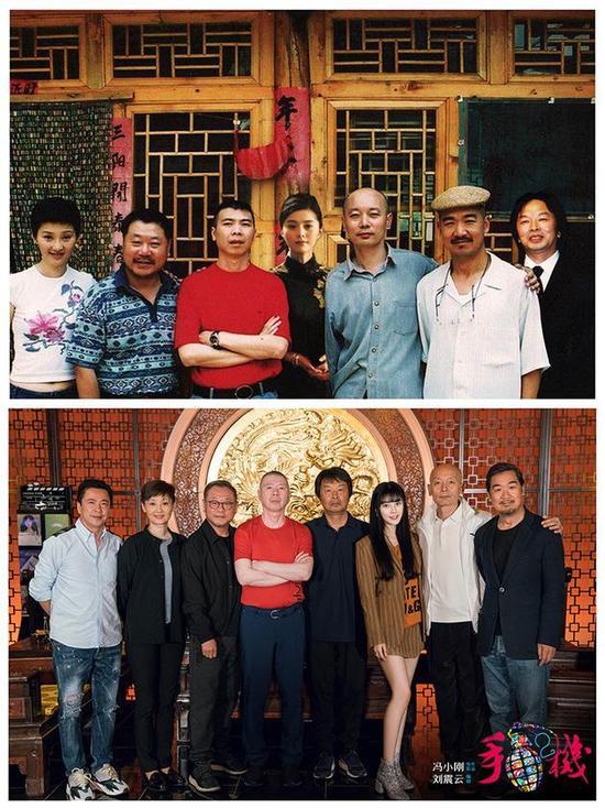 手机2在桂林杀青 冯小刚发文称这片子永远存在