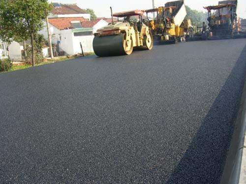 扬州市扬冶路真州路开铺沥青 距离通车不远了!